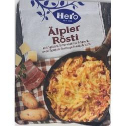 Rösti suisses au lard et fromage