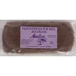 Pain d'épices pur miel aux figues 280g