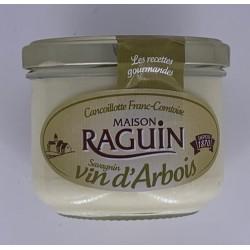 Cancoillotte au Vin d'Arbois - Pot en verre 255 g - Raguin